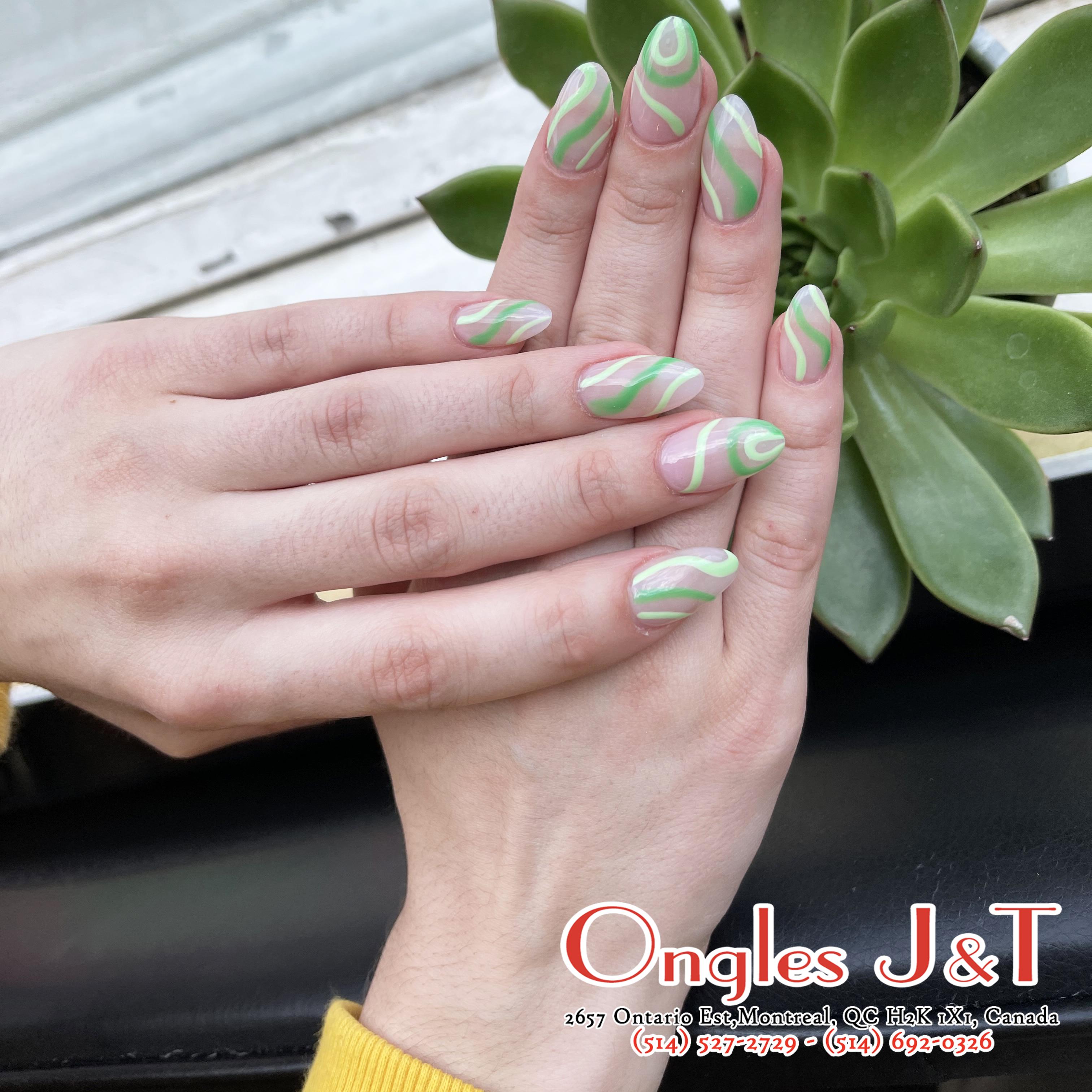 Conception d'ongles Quebec H2K 1X1